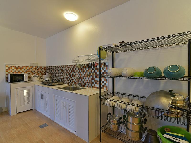 ห้องครัว มอลลี่ พูลวิลล่า