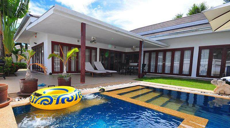 ทิวา พูลวิลล่า บ้านพักสุดหรูในหัวหิน ซอย 88 มี 4 ห้องนอน 3 ห้องน้ำ สระว่ายน้ำส่วนตัว ปิ้งย่างได้ คาราโอเกะ