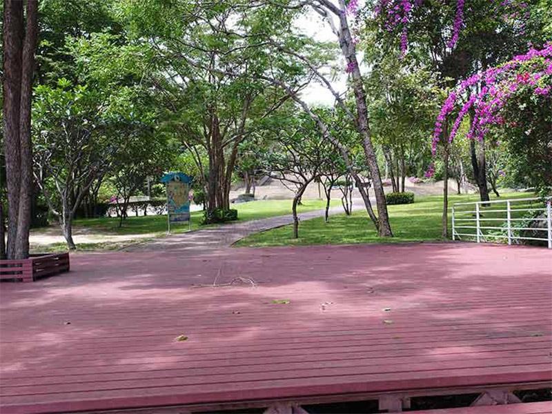 สวนสาธารณะ-บนจุดชมวิวเขาหินเหล็กไฟ